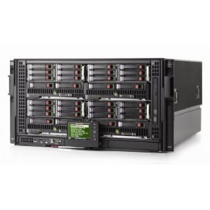 HP C3000 BaldeSystem w/7 x BL460c G8  3.3GHz **512GB RAM 10Gbe 4.56 TB  CAD / CAM CAE  Ansys